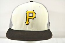 Pittsburgh Pirates Black/White/Gray Baseball Cap Snapback