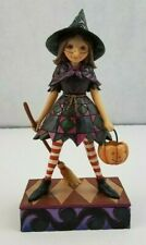Jim Shore Witch Way To Candy Halloween Figure 2011
