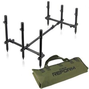 Corus Carp Fishing Pod The Reform Complete 3 Rod Carp Set Up Fishing Tackle Pod