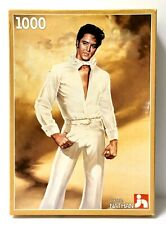 Vintage 1985 Elvis Presley 1000 Piece Puzzle by Nathan Numbered Certificate