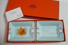 Authentic Hermes Porcelain Mini Ashtray set of 2