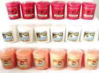 Yankee Candle Votive~Samplers~Some Rare & HTF~You Choose Lot of 6