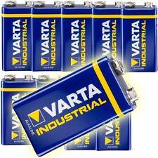 10x 9V E-Block MN1604 Varta Industrial Alkaline Batterien 4022 6AM6  6LR61