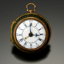 Fisher Early Verge with Date Pair Case Open Face Pocket Watch CA1770s