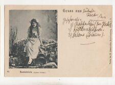 Rautendelein Agnes Sorma Opera Vintage Gruss Aus Postcard Music 675b