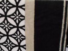 GRAY BLACK WHITE TEAM COLORS MICROFIBER FLEECE THROW Blanket 50 x 60 ULTRASOFT
