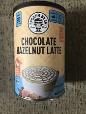 Frozen Bean Chocolate Hazelnut Latte Frappe Mix 21.1 OZ Container AA178