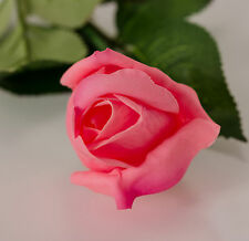 10PCS Real Touch Latex Rose Bud Flowers For Home Decor Wedding Bouquet