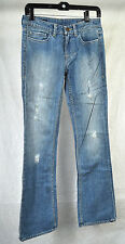 William Rast Stella Valley Straight Boot Blue Jeans 27 USA Womens