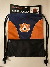 Auburn Logo Sprint Backsack Backpack