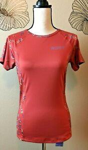 Roxy Dream Sea C/L Swim Short Sleeve UPF 50 Rash Guard Top, NEW, Size L