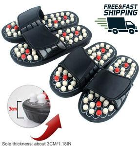 Unisex Foot Massager Acupoint Massage Ball Slippers Reflexology Shiatsu Slippers