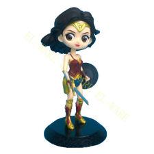 1Pcs DC Comics Wonder Woman Q Version Diana Justice League Action Figure Doll