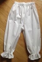 Handmade Girls Victorian Style Bloomers pantsKids Fancy Dress  Party Costume new