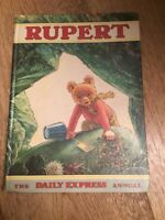 Rupert The Bear The Daily Express Annual 1971 VINTAGE COMIC STRIP ALFRED BESTAL