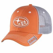 SUBARU Orange Star Patch Cap Hat Genuine Sti WRX Sti Impreza Forester Outback