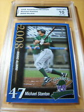 2008 JAMESTOWN JAMMERS TEAM SET MIKE GIANCARLO STANTON 10 GMA MINT RC YANKEES.