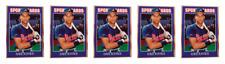 (5) 1992 Sports Cards #86 Dave Justice Baseball Card Lot Atlanta Braves