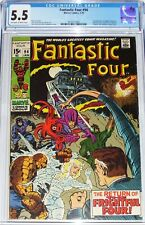 Fantastic Four #94 CGC 5.5 from Jan 1970 1st appearance of Agatha Harkness