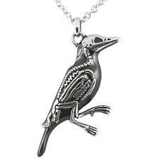 Controse Jewelry Rave N Bones Necklace Bird Skeleton Bones Punk Goth