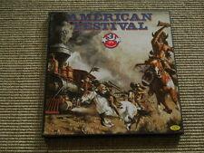 American Festival 3 LP Box Various Seeger Hooker Reed Guthrie washed /gewaschen