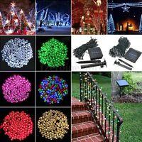 100/200/300/400/500M LED Solar Power Garden Christmas Party Fairy String Lights