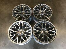 """19"""" Audi R8 V10 Style Alloy Wheels Silver Polished VW Golf MK5 MK6 MK7 MK7.5"""