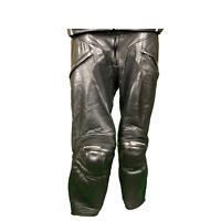 Dainese Motorradhose Lederhose Gr. 46 für Motorradkombi Leather trousers Schwarz