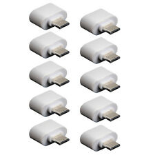 10X Micro USB 5 pin Male to USB A Female OTG adapter Cable Interface For Phones
