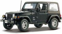 Diecast Model Car 1:18 Scale - Maisto Jeep Wrangler Sahara Special Edition
