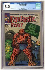 Fantastic Four 51 (CGC 8.0) 1st app. Negative Zone; 2nd app. Wyatt Wingfoot B206