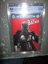 All-Star Batman #1 CBCS 9.8 Rebirth DC Comics Jock Variant Cover