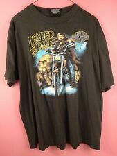 New listing Vtg 1988 3D-Emblem Harley-Davidson Biker Tshirt Mens size Xl Leader of the Pack