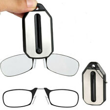 Mini Nose Clip Reading Glasses Folding Strength 1.0 1.5 2.0 2.5 3.0