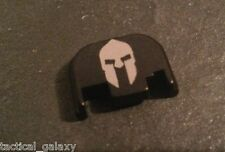 Fits Glock MOLON LABE HELMET Slide end Plate Cover Fits all Glock 17-39