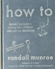 HOW TO by Randall Munroe Hardback New Book