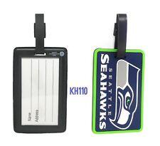 NFL Seattle Seahawks Soft Luggage ID Bag Tags /Gym bag / Golf bag