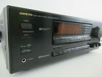 Onkyo Audio Video Control Tuner Amplifier Model TX-SV525, Tested EUC with Manual