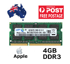 4GB RAM for Apple Macbook Pro iMac MacMini 2010 2011 DDR3 1333MHz PC3 Memory