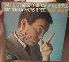 """Jackie Mason signed I'm the Greatest Comedian...  12"""" LP"""