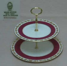 """Wedgwood """"Whitehall"""" (Ruby, W3994)  TWO TIER CAKE STAND"""