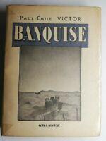 Rare Livre Ancien banquise Paul-Émile Victor dédicacé, Grasset 1939
