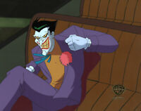 Batman Animated Series Original Production Cel Joker-Sideshow
