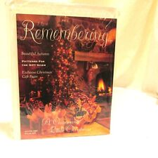 I Love Remembering Craft Paper Pattern Book with Gift Pages Autumn 1997