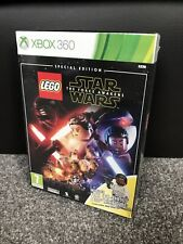 LEGO Star Wars The Force Awakens Special Edition With Minifigure XBOX 360 New