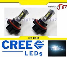 LED 80W 9008 H13 White 6000K Two Bulbs Head Light Replacement Snowmobile