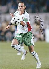 MARTIN PETROV BULGARIA INT 1999-2011 ORIGINAL HAND SIGNED LARGE PHOTOGRAPH