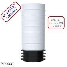 Pp0007 VIVA estensione Easi-fit WC PAN connettore * può essere tagliata per adattarsi * *