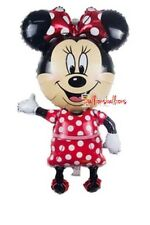 """Minnie Mouse Disney large Air Walker balloons party birthday 40""""  Decorations"""