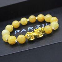 Pixiu Chinese Good Lucky Charm Wealth Bracelets Jade Jewelry Gifts 2019